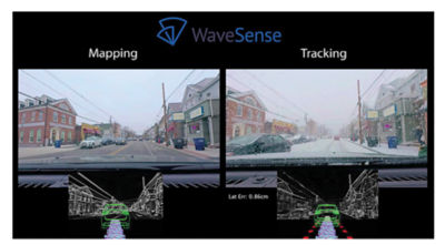 The company measures and records reflections from underground pipes, roots, rocks and soil, and constantly updates WaveSense's database of maps.