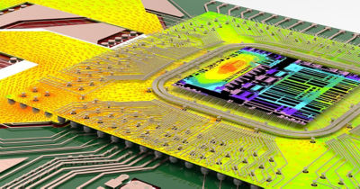 simulation environment for modeling chip, package, and PCB